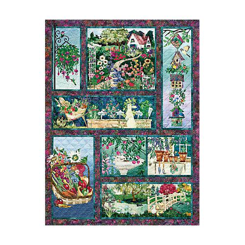 """Пазл Cobble Hill """"Коллаж – летнее цветение"""", 500 деталей от Cobble Hill"""