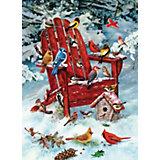"""Пазл Cobble Hill Jack Pine """"Птицы зимой"""", 1000 деталей"""
