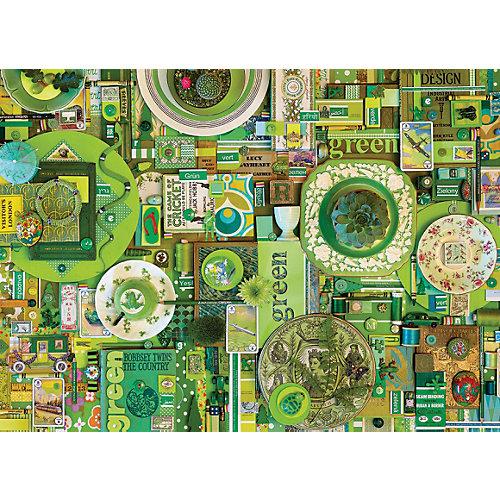 "Пазл Cobble Hill ""Зеленый"", 1000 деталей от Cobble Hill"
