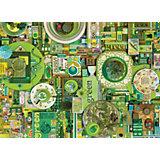 """Пазл Cobble Hill """"Зеленый"""", 1000 деталей"""