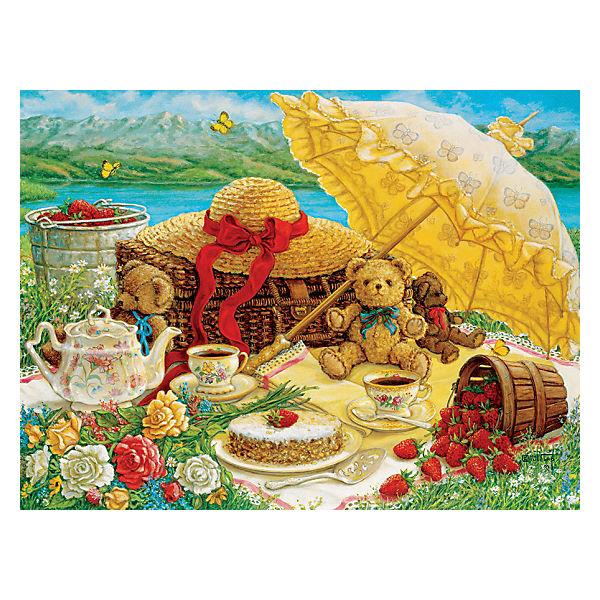"""Пазл Cobble Hill """"Пикник с плюшевым мишкой"""", 500 деталей"""