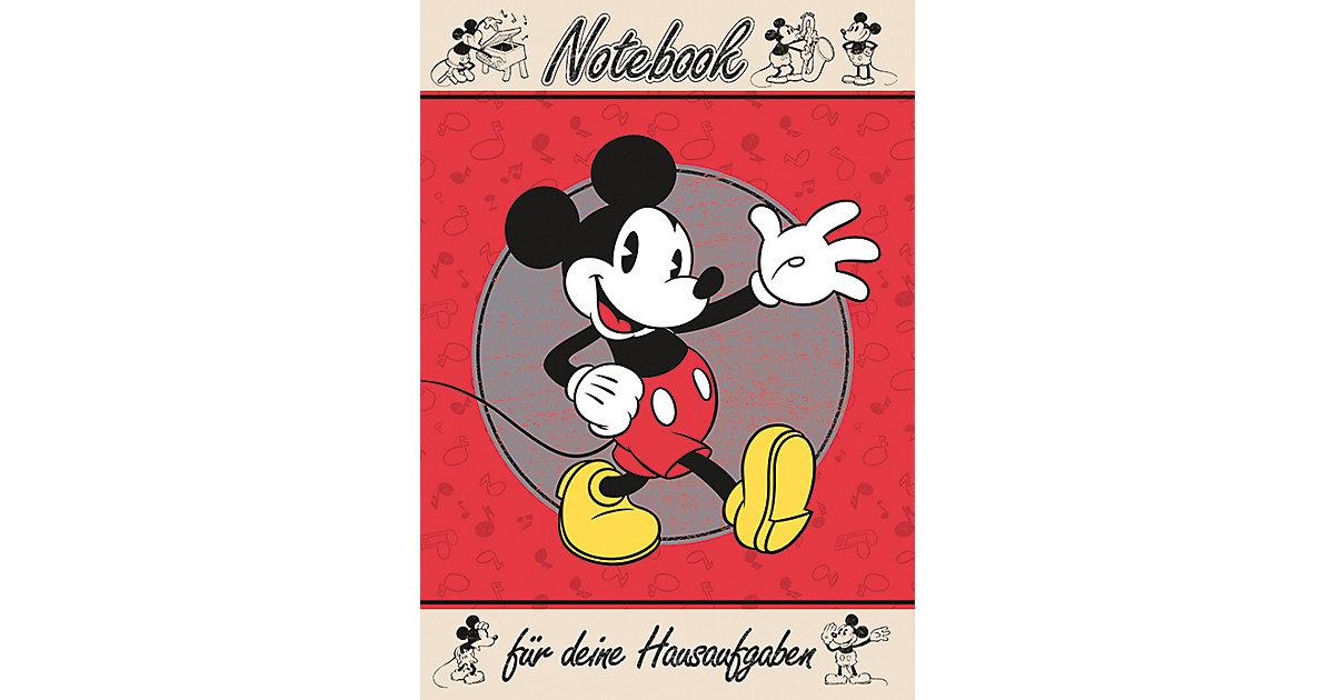 Buch - Hausaufgabenheft Mickey Maus