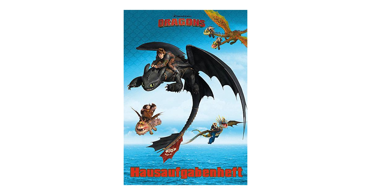 Buch - Hausaufgabenheft Dragons