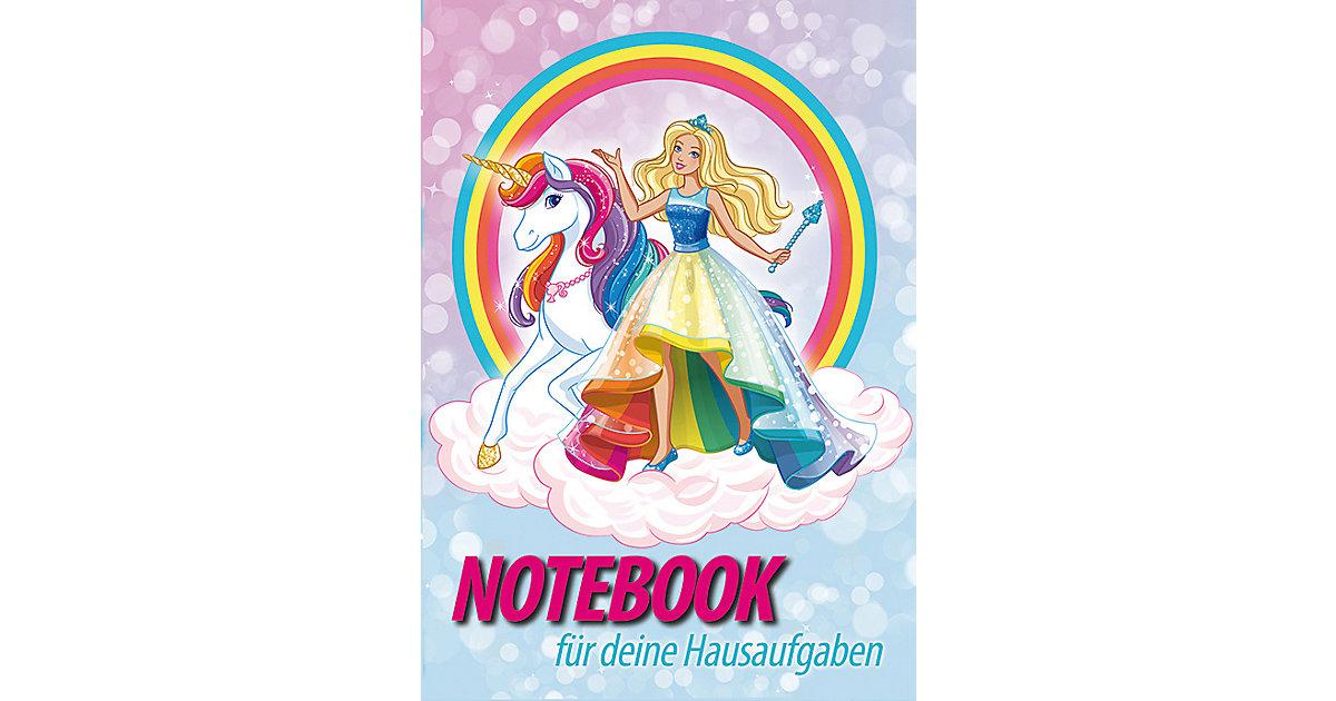 Buch - Hausaufgabenheft Barbie Einhornwelt