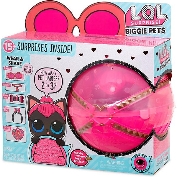 """Игровой набор LOL """"Большой питомец"""", кошка в розовом шаре"""
