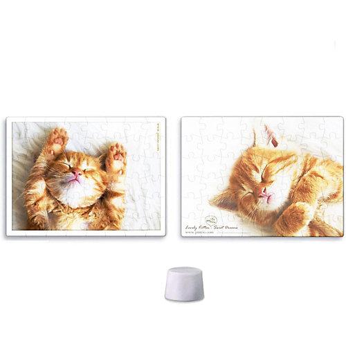 Двухсторонний пазл Pintoo Тихий час котенка, 48 элементов от Pintoo