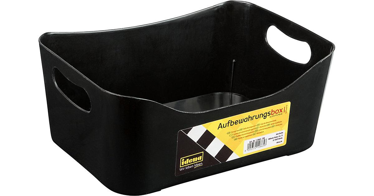 Image of Aufbewahrungs-Box klein, schwarz
