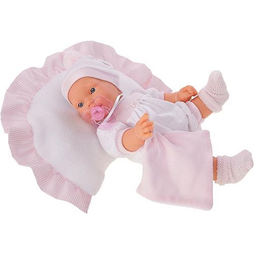 Кукла Munecas Antonio Juan Химена в розовом, плачет, 27 см от Munecas Antonio Juan