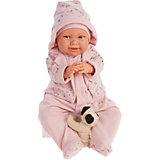Кукла Munecas Antonio Juan Мартина в капюшоне, озвученная, 52 см