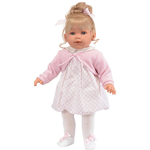 Кукла Munecas Antonio Juan Зои в розовом, 55 см от Munecas Antonio Juan