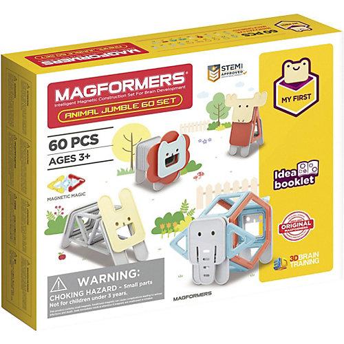 Магнитный конструктор Magformers Jumble 60 Set от MAGFORMERS
