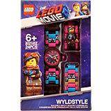 Часы наручные LEGO Movie 2 с минифигурой Wyldstyle
