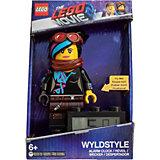 Будильник LEGO Movie 2, минифигура Wyldstyle
