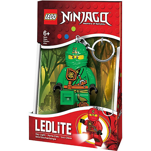 Брелок-фонарик для ключей LEGO Ninjago Lloyd - зеленый от LEGO
