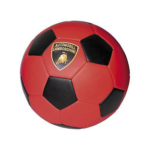 Футбольный мяч Lamborghini, 22 см, красный от Lamborghini