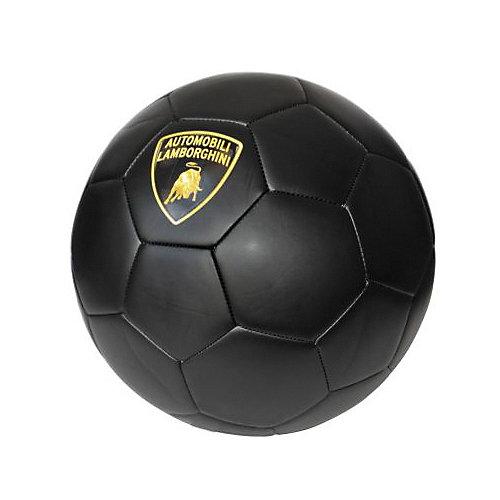 Футбольный мяч Lamborghini, 22 см, черный от Lamborghini