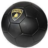 Футбольный мяч Lamborghini, 22 см, черный