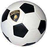 Футбольный мяч Lamborghini, 22 см, белый