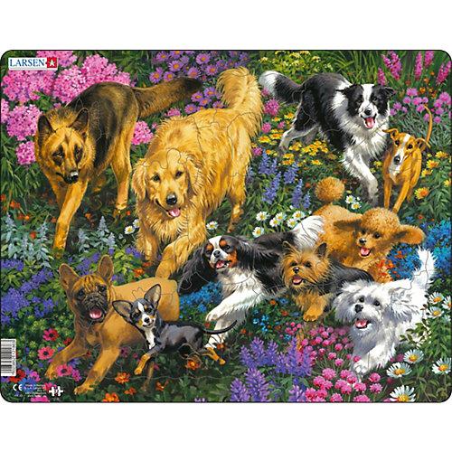 Пазл Larsen Собаки от Larsen