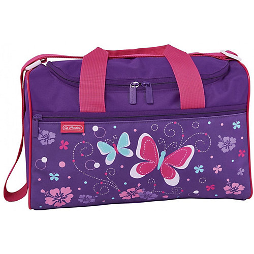 Спортивная сумка Herlitz XL, Butterfly - розовый от herlitz