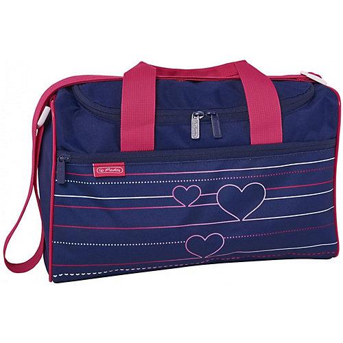 Спортивная сумка Herlitz XL, Heartbeat - синий от herlitz