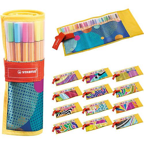 Набор капиллярных ручек Stabilo Point 88 Individual Just Like You, 25 цветов от STABILO