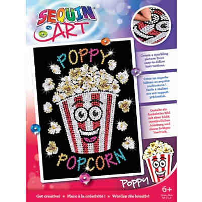 Sequin Art Red - Popcorn