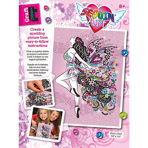 Sequin Art Teen Craft - Fee