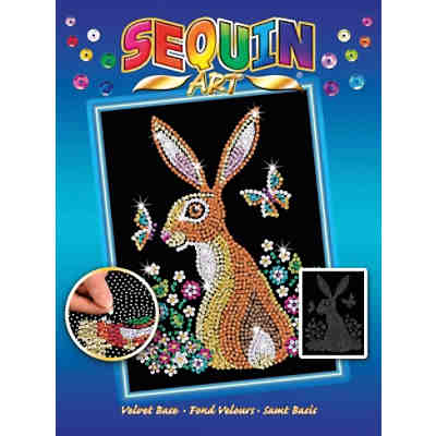 Sequin Art Blue - Hase