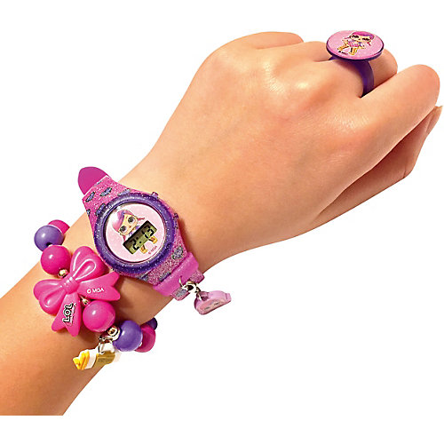 Наручные часы LOL с украшениями