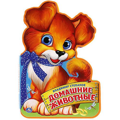 """Книжка с фигурной вырубкой """"Домашние животные"""", В. Степанов от Умка"""