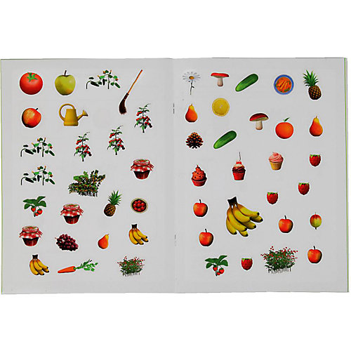 """Развивающая книга с заданиями """"Школа раннего развития"""" Маша и Медведь, Фрукты и овощи от Умка"""