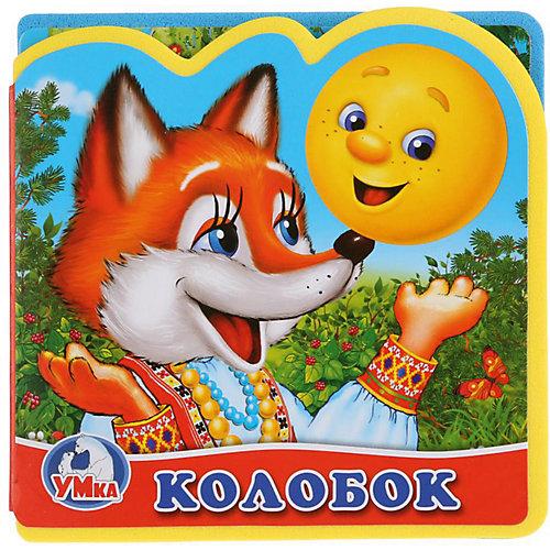 """Книжка с вырубкой и пазлами """"Колобок"""" от Умка"""