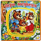 """Книжка с пазлами """"Три медведя"""""""