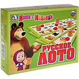 """Настольная игра """"Русское лото"""", Маша и Медведь"""