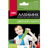 """Химические опыты Lori """"Алхимик"""" Лизун, зелёный"""