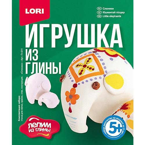 """Набор для лепки Lori """"Игрушка из глины"""" Слоники от LORI"""