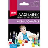 """Химические опыты Lori """"Металломагия"""" Оловянная губка"""