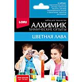 """Химические опыты Lori """"Алхимик"""" Лава, красная"""