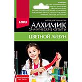 """Химические опыты Lori """"Алхимик"""" Лизун, красный"""