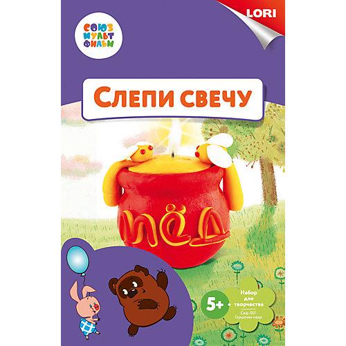 """Набор для лепки свечи Lori """"Союзмультфильм"""" Горшочек мёда"""