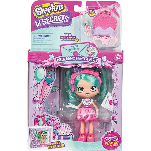 Кукла Lil' Secrets Shoppies Белла Боу, с аксессуарами