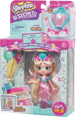 Кукла Lil' Secrets Shoppies Жемчужная Русалка, с аксессуарами