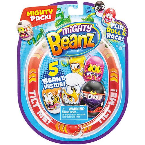 Набор Mighty Beanz, 5 бобов от Moose