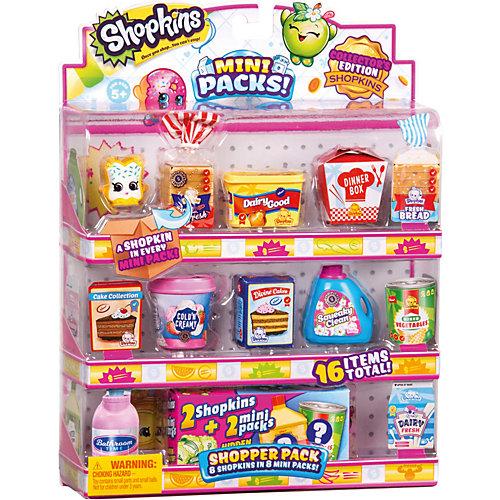 """Комплект фигурок Shopkins """"Набор покупателя"""", 8 штук с упаковками от Moose"""
