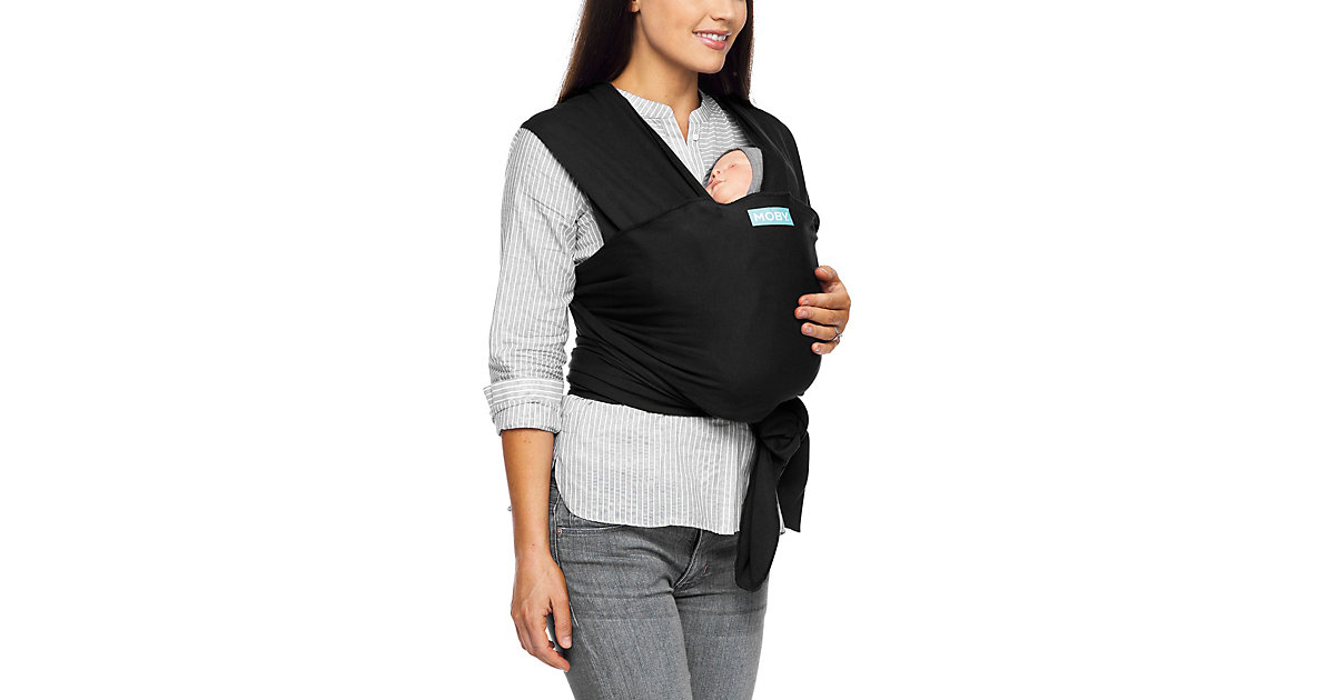 MOBY · Babytrage Moby, Classic, Black