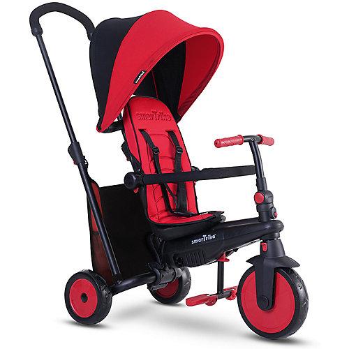 Трехколесный велосипед Smart Trike, красный