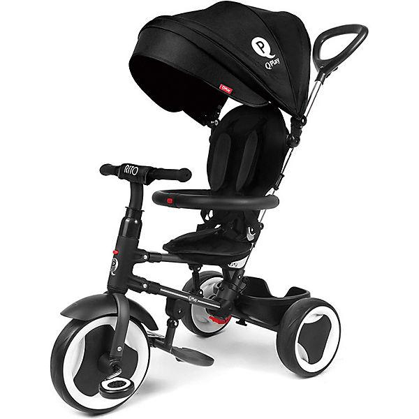 Трехколесный велосипед Qplay, черный