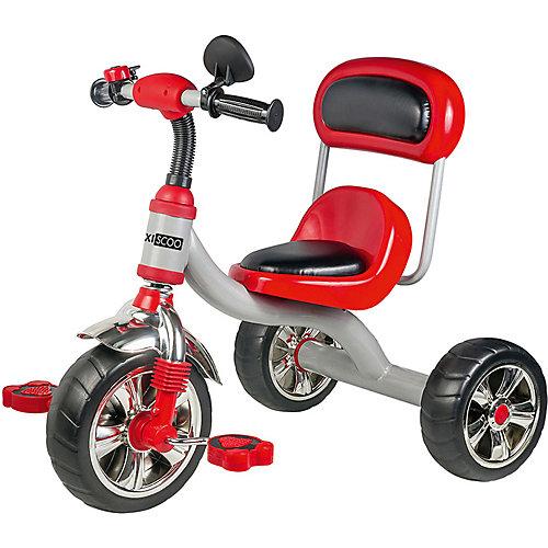 Трехколесный велосипед Maxiscoo с мягким сиденьем и спинкой, красный от Maxiscoo