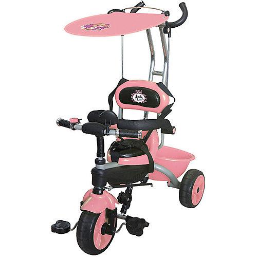 Трехколесный велосипед Jack&Lin, розовый от Jack&Lin